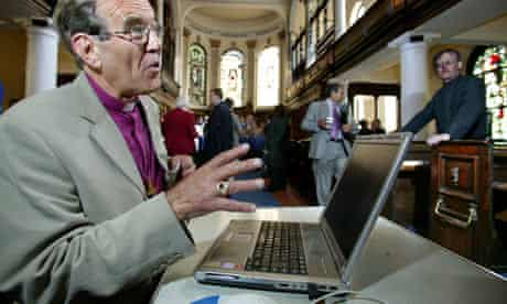 Right Rev Nigel McCulloch, bishop of Manchester