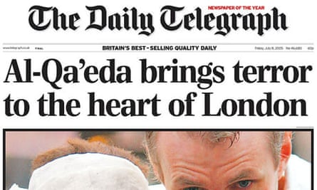 Telegraph July 7 bombings
