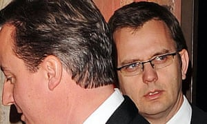 Andy Coulson with David Cameron