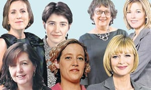 Women on election coverage