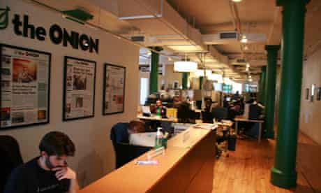 The Onion's New York offices