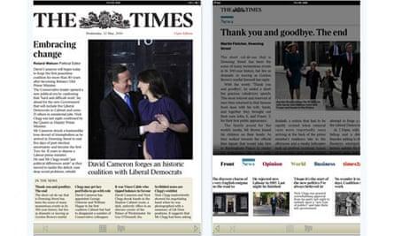 The Times iPad app
