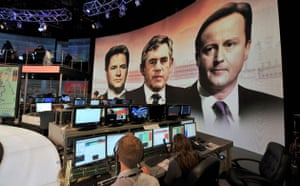 BBC election coverage: The BBC general election set