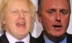 Boris Johnson and Paul Dacre