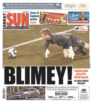 World Cup 2010 pages: Toronto Sun, Canada