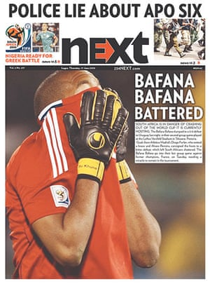 World Cup pages: Next, Nigeria