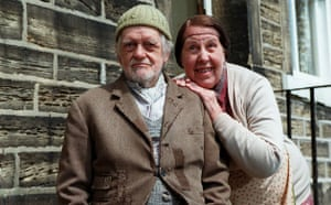 last of the Summer Wine: Compo (Bill Owen) and Nora Batty (Cathy Staff) in 1996