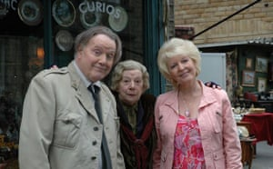 last of the Summer Wine: Lance, Aunty Wainwright and Ethel in 2008