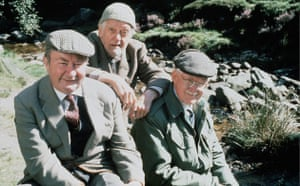 Last of the Summer Wine: Clegg, Compo and Foggy in 1975 Clegg, Compo and Foggy in 1975