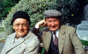 Last of the Summer Wine: Compo (Bill Owen) and Clegg (Peter Sallis) in 1983