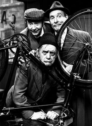 Last of the Summer Wine: Compo (Bill Owen), Clegg (Peter Sallis) and Cyril (Michael Bates) in 1975
