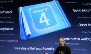 iPhone OS 4.0: Steve Jobs at the launch