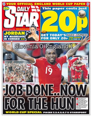 World Cup pages: Daily Star