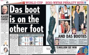 World Cup pages: The Sun spread