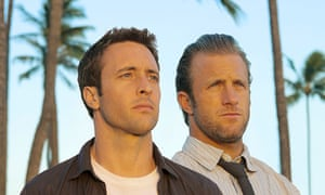 Alex O'Loughlin and Scott Caan in Hawaii Five-O remake