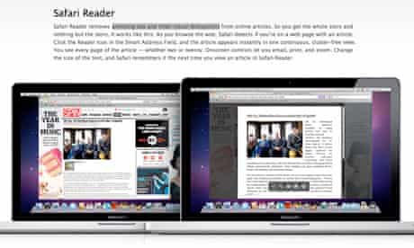 Apple Safari Reader