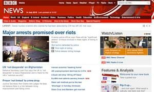 BBC News website - 14 July 2010