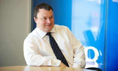 Andrew Miller, new chief executive of the Guardian Media Group