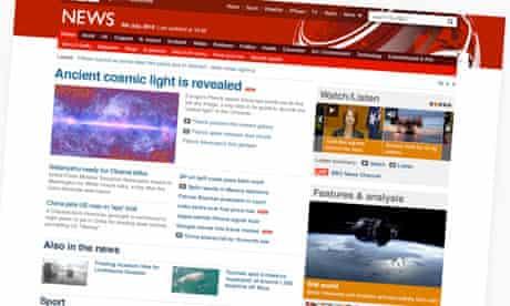 New BBC News website for PDA blog