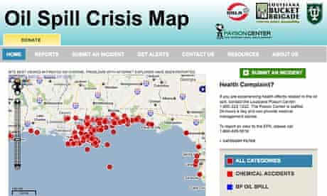 Ushahidi platform used to map Gulf oil spill