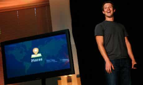 Mark Zuckerberg launches Facebook Places