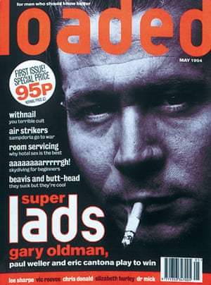 Loaded: The cover of Loaded's first issue, May 1994