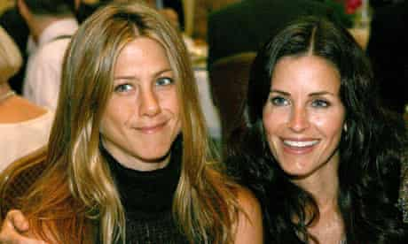 Jennifer Aniston and Courteney Cox Arquette