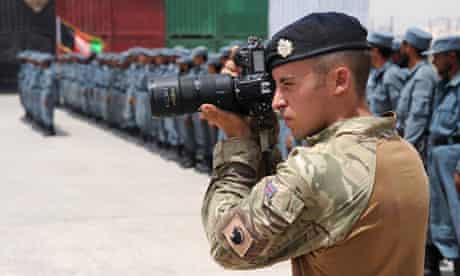 Combat Camera Team in Afghanistan