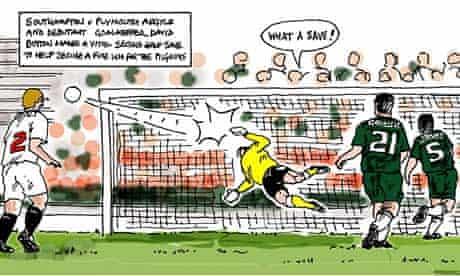 Plymouth Herald football cartoon
