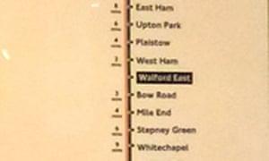 The EastEnders tube map | Media Monkey | Media | The Guardian on