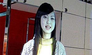 Virtual mannequin for Japanese advertising