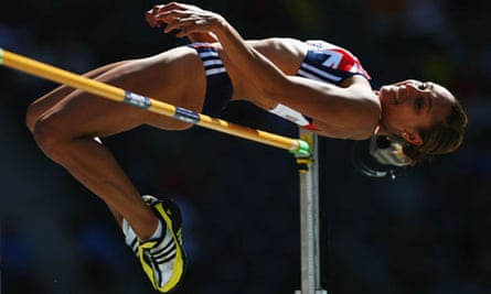 Jessica Ennis at IAAF World Athletics Championships
