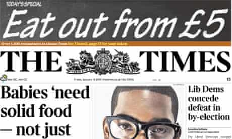 The Times - 14 January 2011
