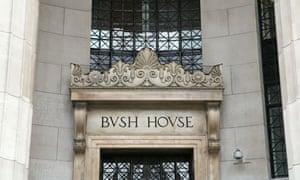BBC Bush House in the Aldwych