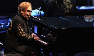 Sir Elton John performs in the 2010 Electric Proms