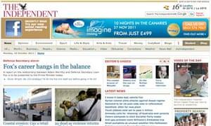 Independent website