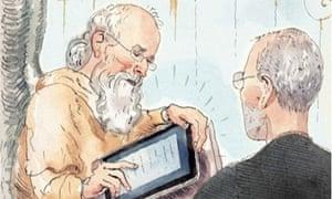 Steve Jobs: New Yorker cover