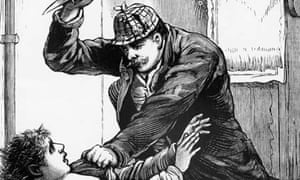 Jack the Ripper illustration from Police Gazette