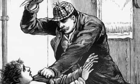 Jack the Ripper illustration from Police Gazette