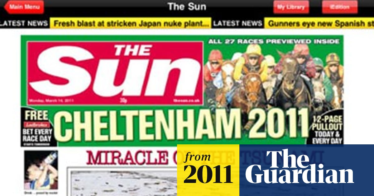 The Sun to launch new mobile and tablet apps | Media | The Guardian