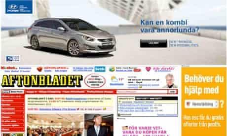 Aftonbladet website