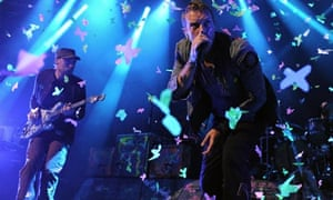 Coldplay play at the iTunes Festival