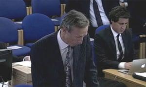 Rhodri Davies at the Leveson inquiry