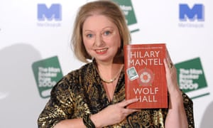 Hilary Mantel with Wolf Hall