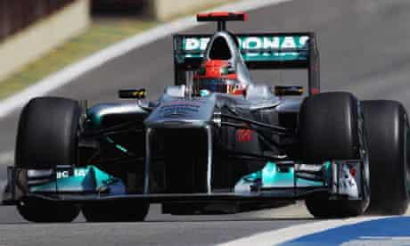 F1 Brazilian Grand Prix - Michael Schumacher