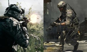 Battlefield 3 and Call of Duty 3