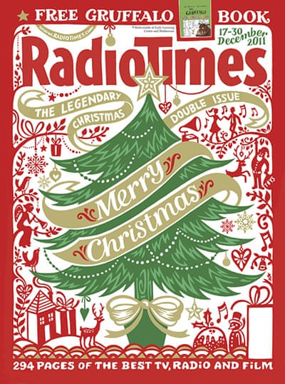 Free Christmas Radio.Radio Times Christmas Covers In Pictures Media The