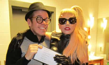 Perez Hilton and Lady Gaga