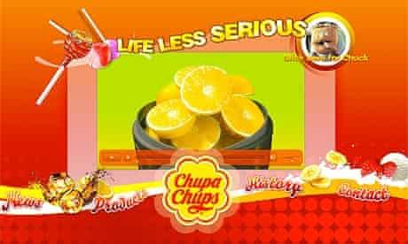 Chupa Chups website