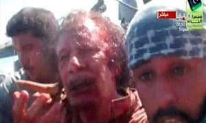 Muammar Gaddafi video